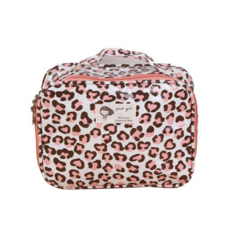 HKS Ms. Leopard Portable Cosmetic (White) (Intl)