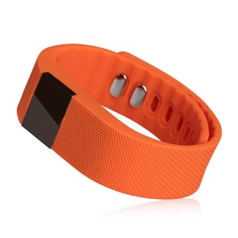 HKS Smart Wristband Pedometer Heath for Android IOS Orange (Intl)