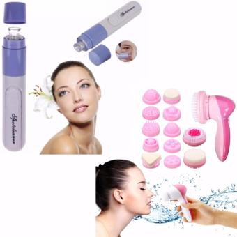 Hot Electronic Skin Facial Pore Cleaner Cleanser Blackhead Spot ZitAcne Remover with Cnaier Multi-Functional Face Massager