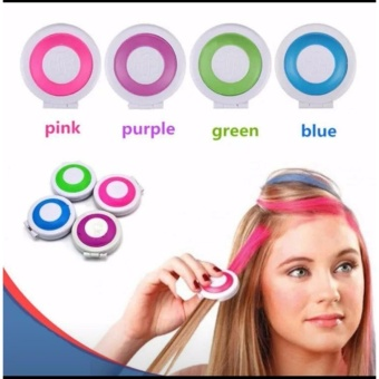 Hot Huez Washable Temporary Hair Chalk Multicolor