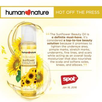 Human Heart Nature Sunflower Beauty Oil 100ml - 2