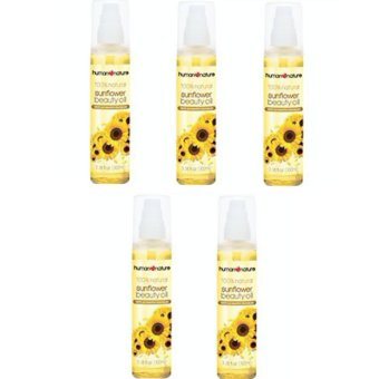 Human Heart Nature Sunflower Beauty Oil Set of 5 (50ml)