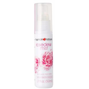 Human Nature 100% All Natural RoseDew Mist with Pure Rose Water 50ml