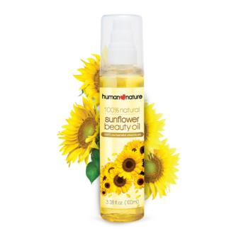 Human Nature 100% All Natural Sunflower Beauty Oil 50ml - 2