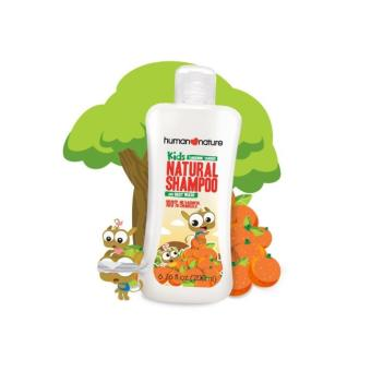Human Nature Natural Kids Shampoo and Body Wash in Tangerine Tarsier 200ml