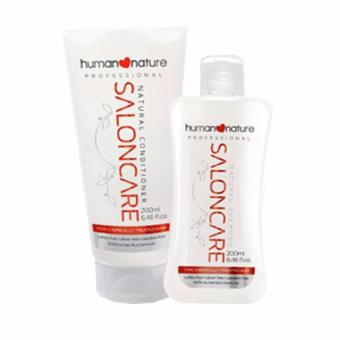 Human Nature Professional Salon Care Shampoo 200ml and Conditioner 200ml Hair Care Set