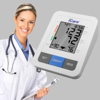 iCare(R) CK802 Digital Upper Arm Blood Pressure Monitor/Irregular Heart Beat Detector (White) Price Philippines