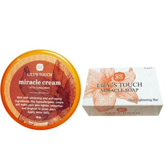 Lily's Touch Miracle Cream 50ml and Miracle Soap 90g Bundle Price Philippines