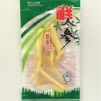 Harga Fresh Chang Bai Mountain Fresh Ginseng Roots