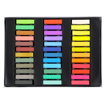 6 12 24 36 Colors Non-toxic Temporary Pastel Hair Square Dye Color Chalk Price Philippines