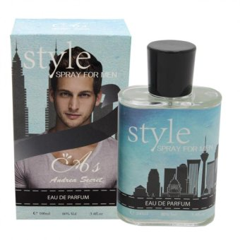 Andrea Secret Style Eau De Parfum Spray For Men 100ml Price Philippines
