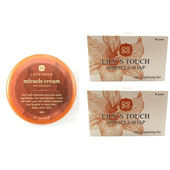 Lily's Touch Miracle Cream 50ml and Miracle Soap 90g Price Philippines