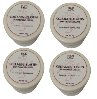 P&P Skin Care Collagen-Elastin Skin Firming Cream 25g Set of 4 Price Philippines