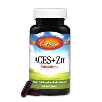 Carlson ACES + Zn Bottle of 60 Soft Gels Price Philippines