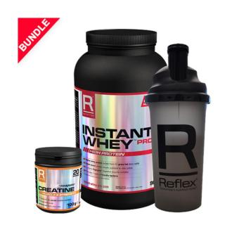Harga Reflex Nutrition Strength Starter Bundle VANILLA ICE CREAM