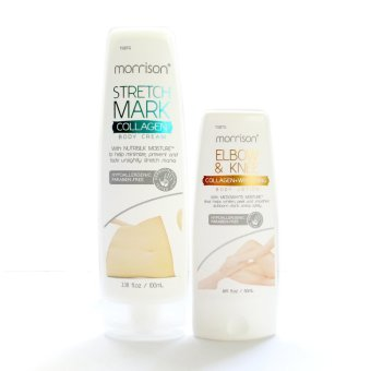 Morrison Stretchmark Collagen Body Cream 100ml with Morrison Elbow and Knee Whitening Body Lotion 50ml Price Philippines