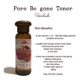 Harga Skinlush by Pacey Pore Be Gone Toner 50ml