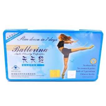 Ballerina Anti-Obesity Capsules 400mg x 24s Price Philippines