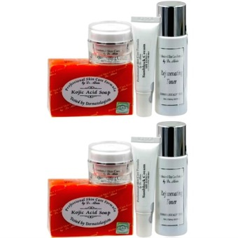 Dr. Alvin Professional Skin Care Formula Rejuvenating Set for All Skin types Bundle of 2 Price Philippines