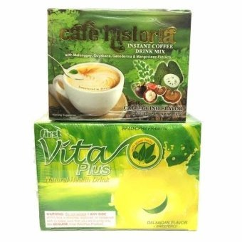 Harga Vita Plus Dalandan Natural Health Drink 20s and Cafe Historia Capuccino Coffee Healthy Set