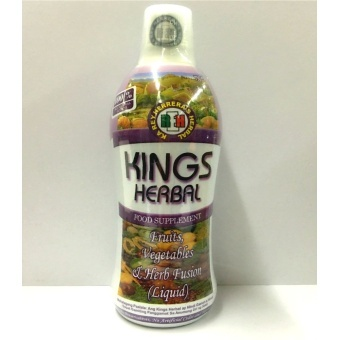 Harga King's Herbal Fruits, Vegetables and Herbs Fusion 750ml