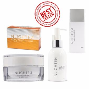 Harga Nlighten Sets Get rid of pimples acne and milia