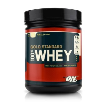Harga Optimum Nutrition Gold Standard 100% Whey 1lb (Double Rich Chocolate)