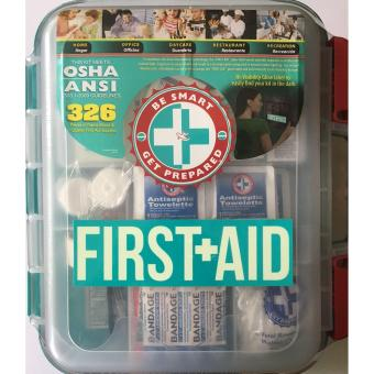 Harga 326 Pieces of OSHA Quality First Aid Supplies Kit Assembled in USA