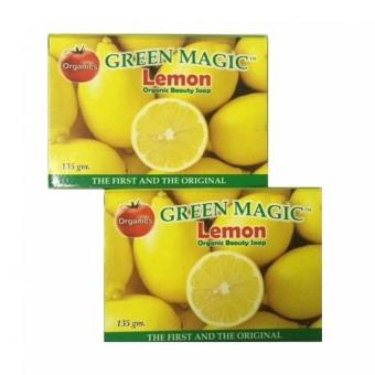 Harga AA&LL - Green Magic-Lemon Organic Beauty Soap - set of 2