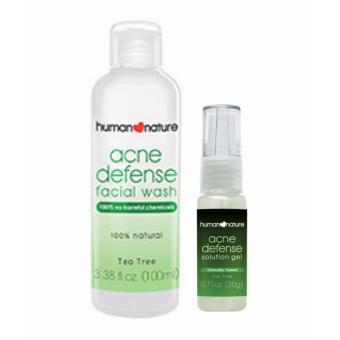 Harga Human Nature Acne Fighting Duo