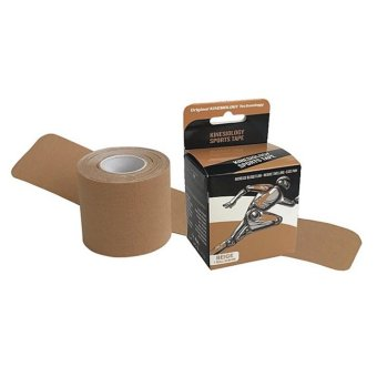 Harga Topcare Muscle Tape 2-Way Kinesiology Technology (Beige) Pre-Cut