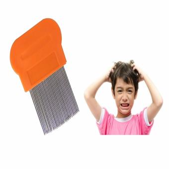 Terminator Lice Nit DANDRUFF Magic Comb Suyod Stainless Steel ORANGE Price Philippines