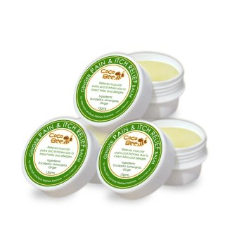Harga Milea Pain and Itch Ginger Balm with Natural Beeswax 13 grams Set of 3