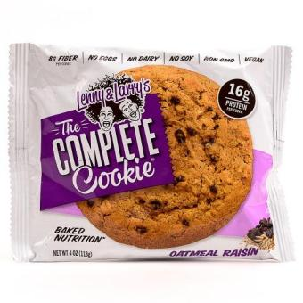 Harga Lenny & Larry's Complete Cookie Oatmeal Raisin 113g Set of 6
