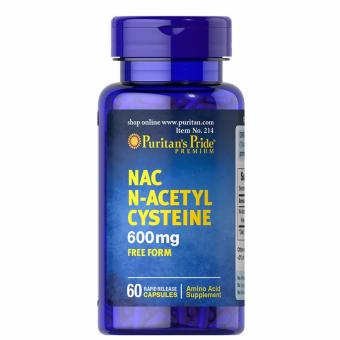 Authentic Puritan's Pride N-Acetyl Cysteine NAC 600mg 60 Capsules Price Philippines
