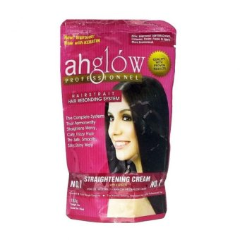 Ahglow Rebonding pouch 165G Straightening Cream Price Philippines