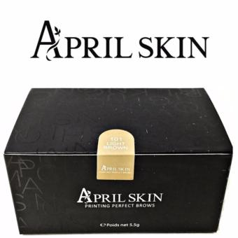 April Skin Eyebrow Stamp (Light Brown) Price Philippines
