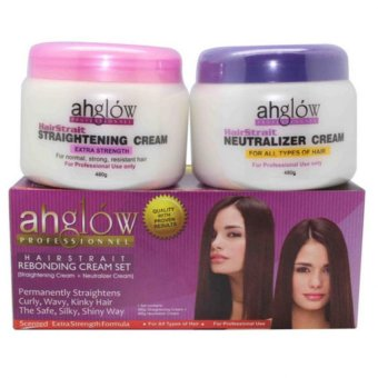Professional Keratin Rebonding Cream 2in1 Set 300mlx2 AH-1056-S Price Philippines