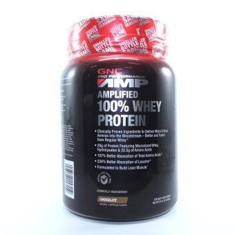 GNC AMP 100% Whey Protein Chocolate Price Philippines