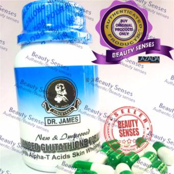Dr. James Glutathione Skin Whitening Capsules (New Bottle) Brown 60s Price Philippines