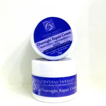 Harga Crystal Infinity Overnight Repair Cream 15g