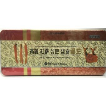 Harga Korean Red Ginseng Youngi-Mushroom Antler Capsule 120s