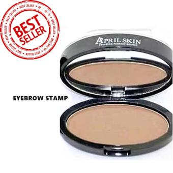 APRIL SKIN EYEBROW STAMP/ PRINTING PERFECT BROW/ LIGHT BROWN Price Philippines