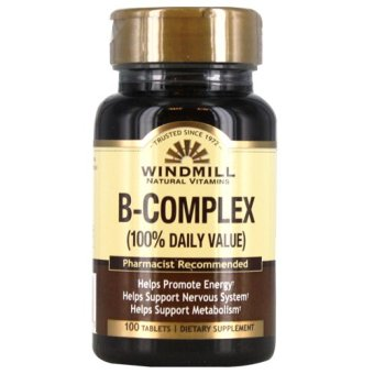 Harga Windmill B-Complex Tablets Bottle of 100