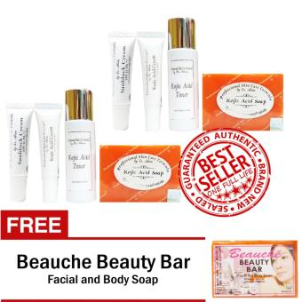 Harga Dr. Alvin Professional Skin Care Kojic Acid Set of 2 with Free Beauche Beauty Bar
