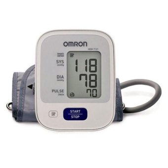 Automatic Arm Type Blood Pressure Monitor Brand Omron HEM-7121 (White) without AC Adapter Price Philippines