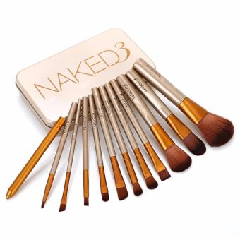 Harga Naked 12 pcs Professional 3 Power Makeup Brushes