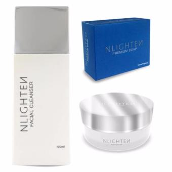 Harga NLighten Beauty Set (For stretchmark, darkspots & scars)