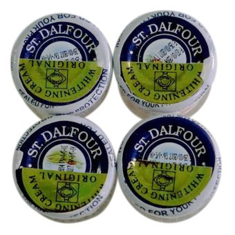 Harga St. Dalfour Beauty Whitening Cream 50g Set of 4
