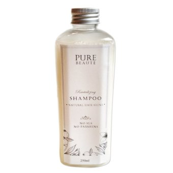 Harga Pure Beaute Virgin Coconut Oil SHAMPOO All Natural 250ml